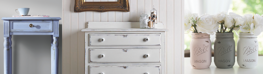 Chalky finish paint projects