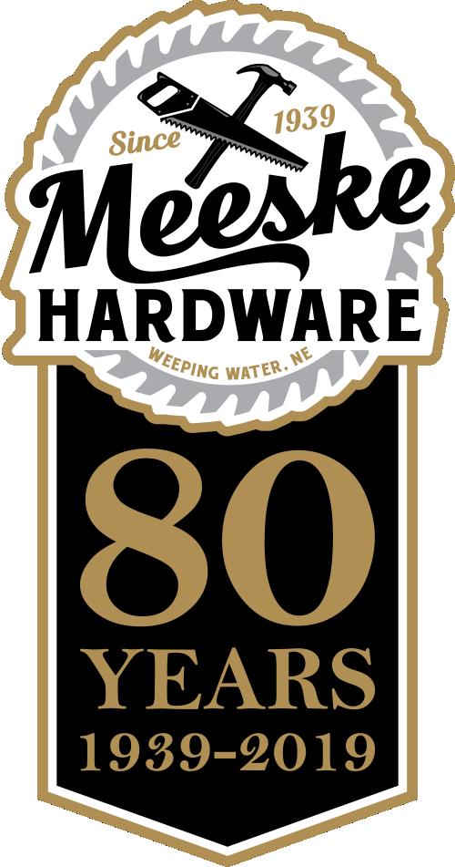 80 Year Anniversary Meeske Hardware Weeping Water Nebraska